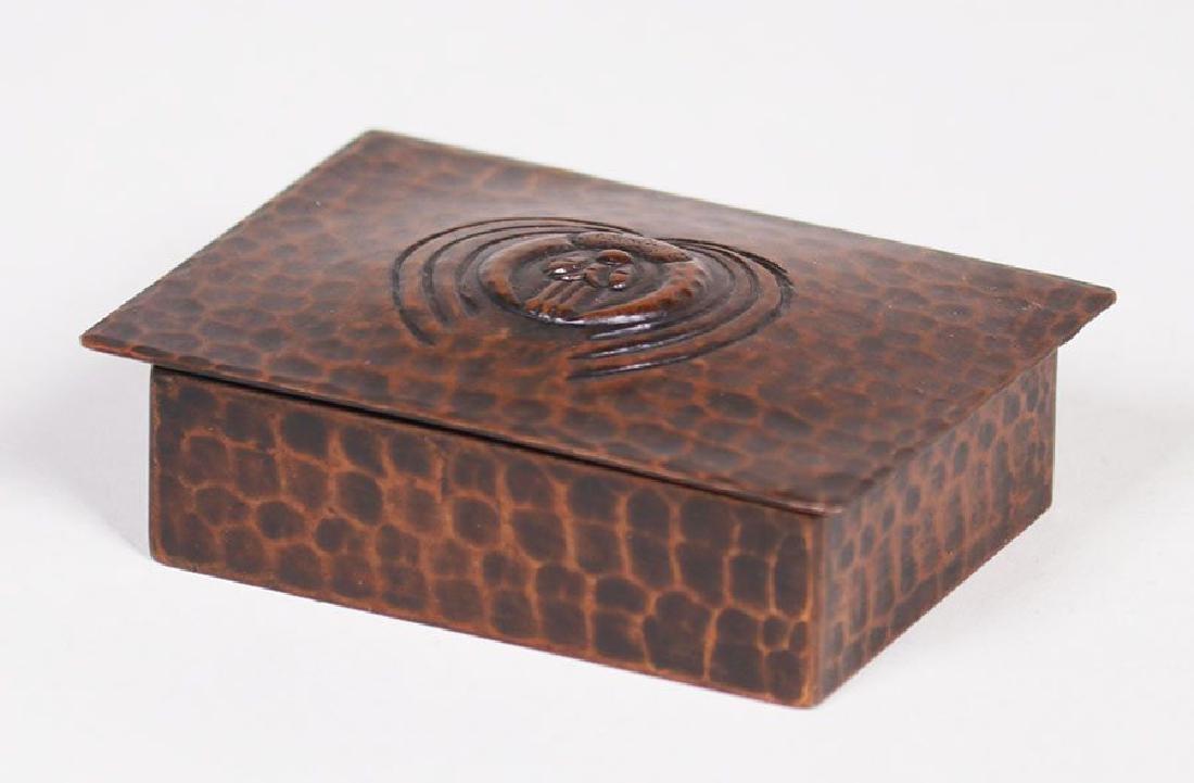 Old Mission Kopper Kraft Stamp Box