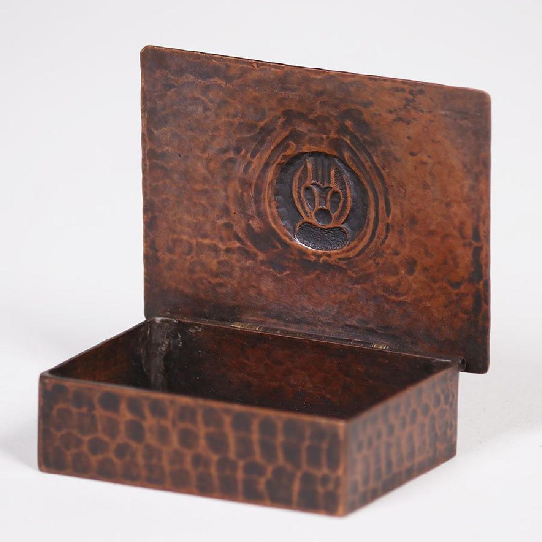 Old Mission Kopper Kraft Stamp Box - 2