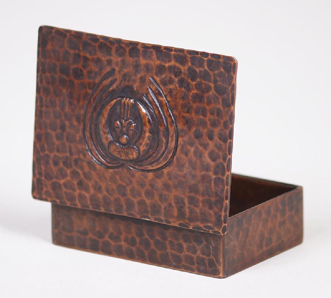 Old Mission Kopper Kraft Stamp Box - 3