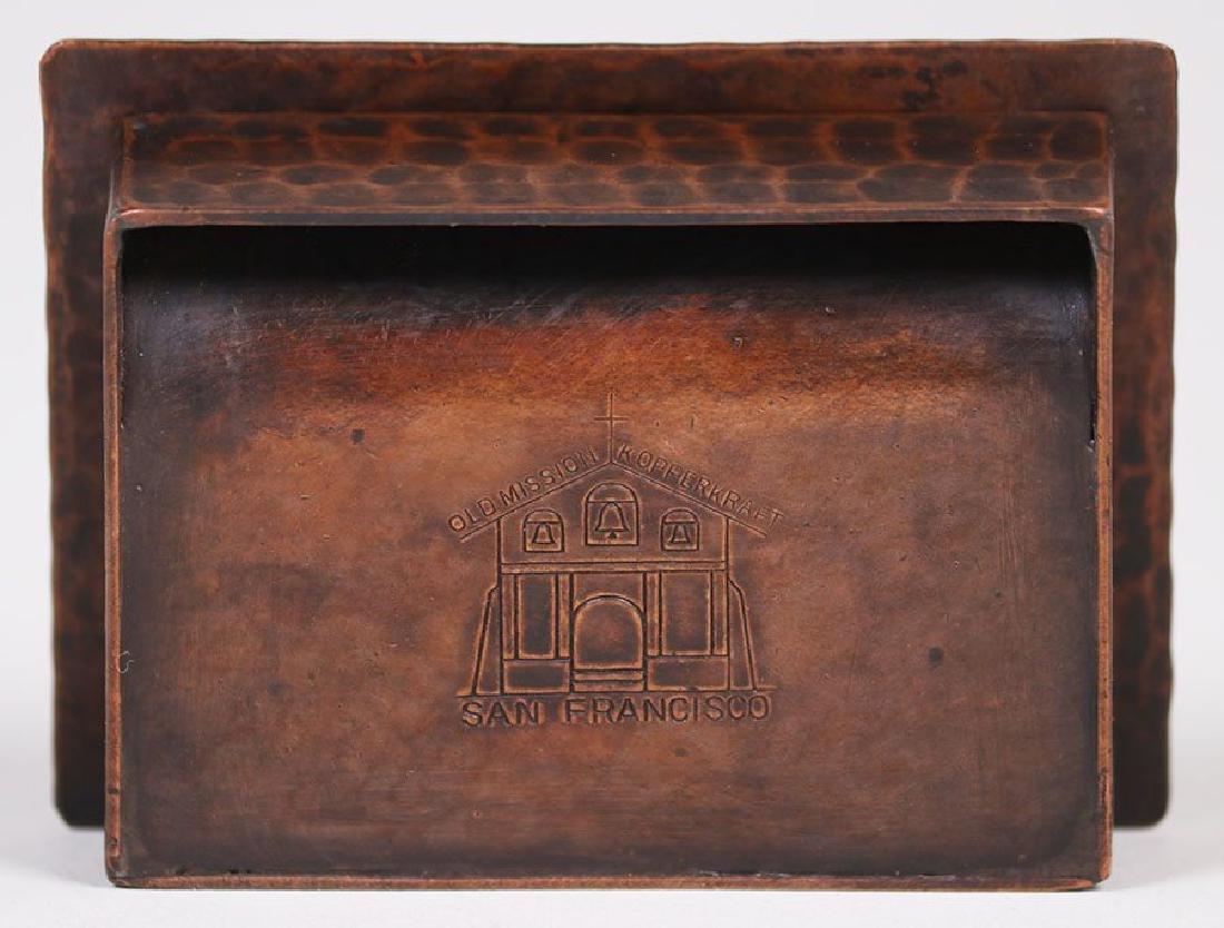 Old Mission Kopper Kraft Stamp Box - 4