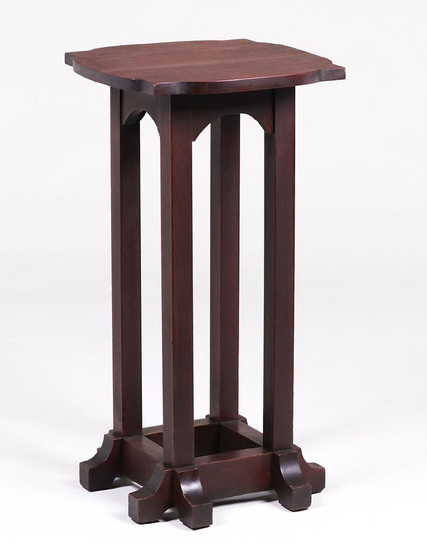 Tobey Furniture Co (Chicago) Mahogany Plant Stand
