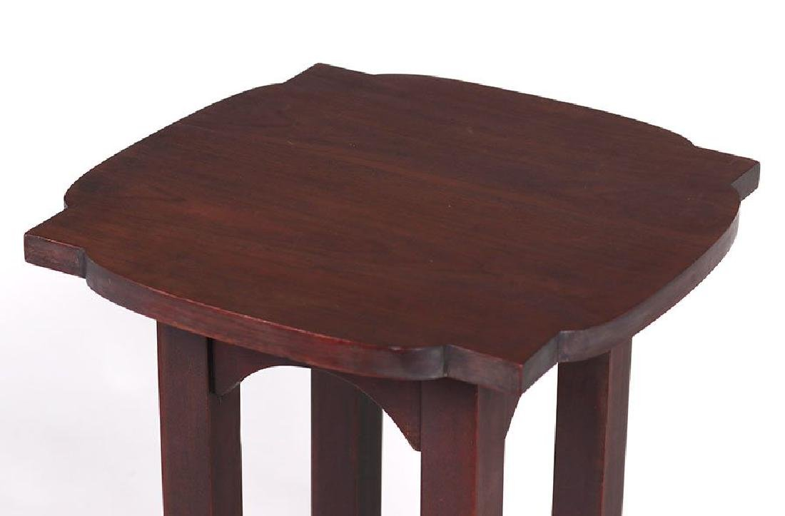 Tobey Furniture Co (Chicago) Mahogany Plant Stand - 3