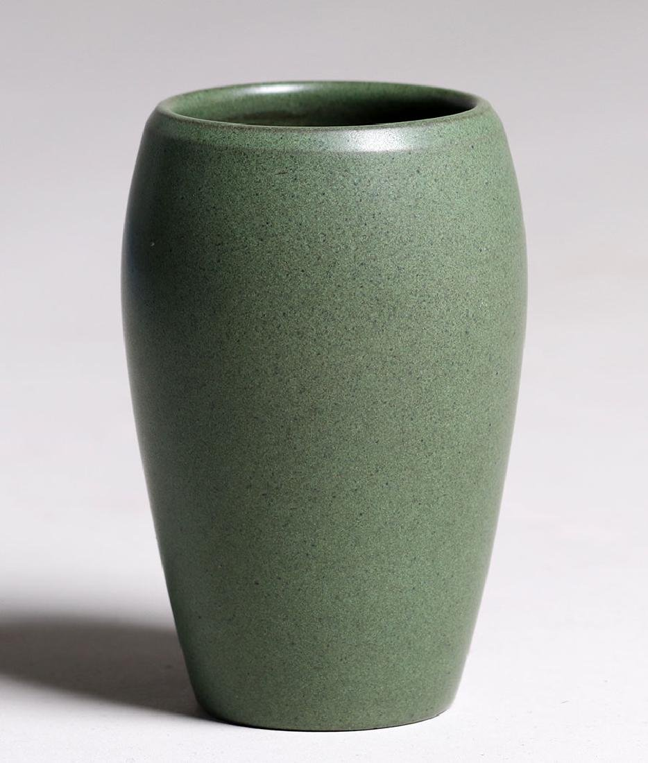 Marblehead Pottery Matte Green Ovoid-shaped Vase