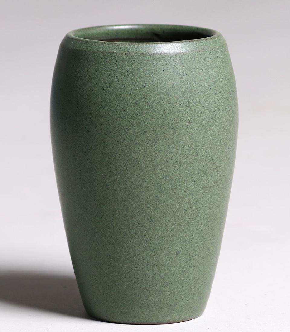 Marblehead Pottery Matte Green Ovoid-shaped Vase - 2