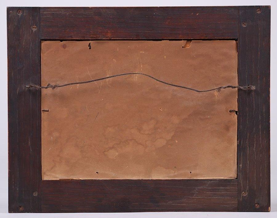 Roycroft Oak Framed Motto c1910 - 3