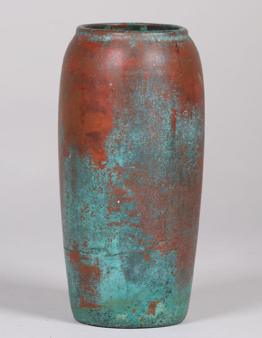 Clewell Copper-clad Pottery Vase