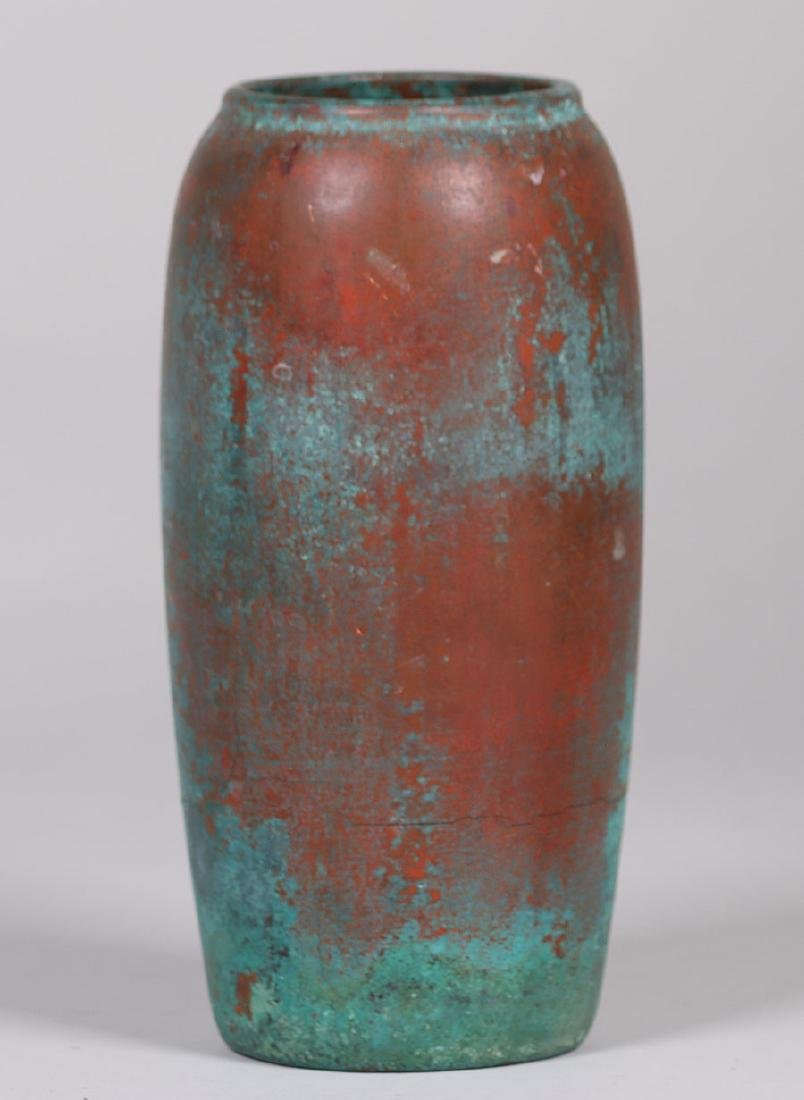 Clewell Copper-clad Pottery Vase - 2