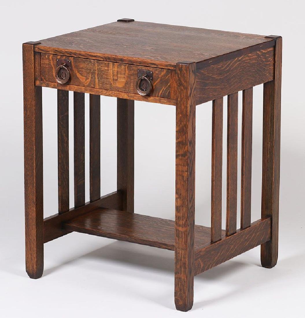 Stickley Brothers One-drawer Side Table