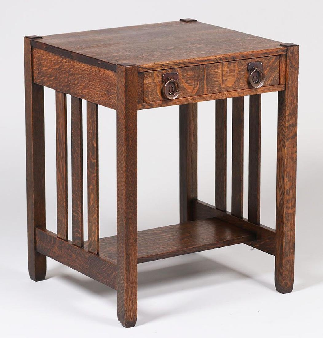 Stickley Brothers One-drawer Side Table - 2