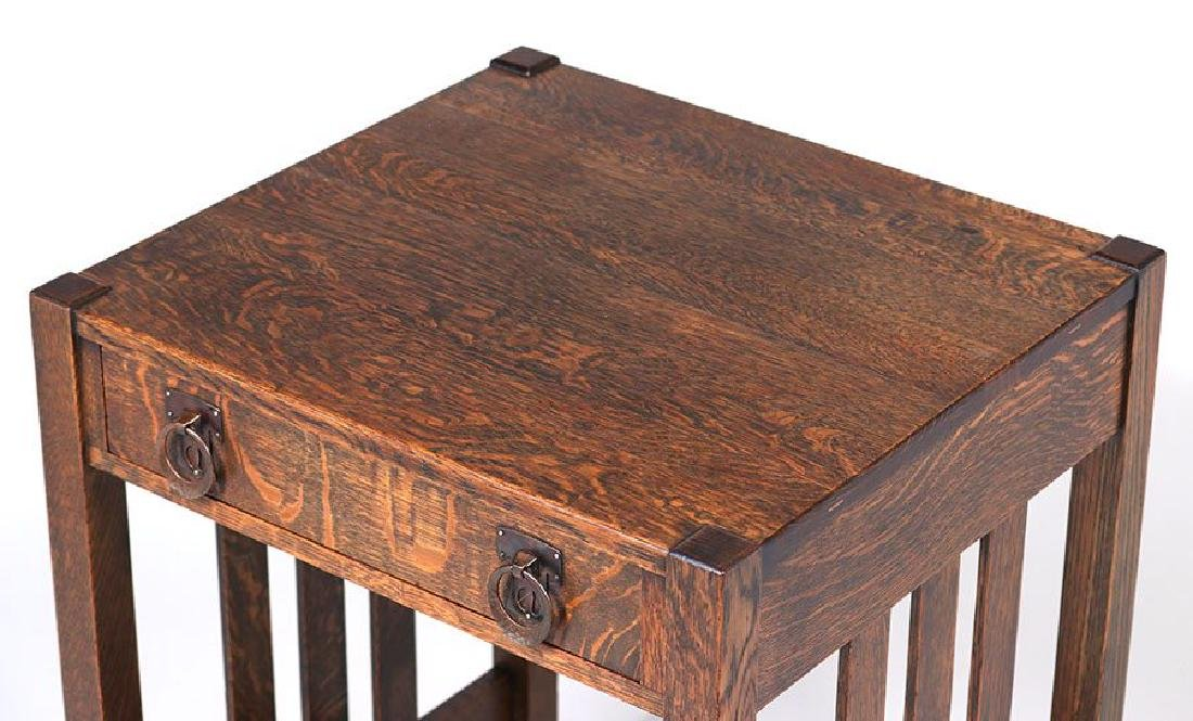 Stickley Brothers One-drawer Side Table - 3