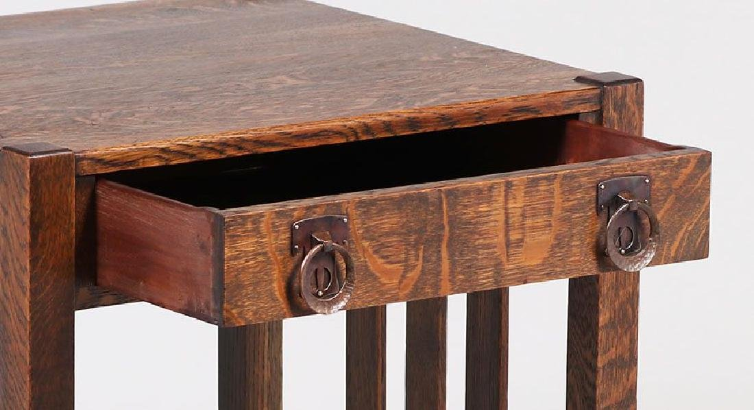 Stickley Brothers One-drawer Side Table - 4