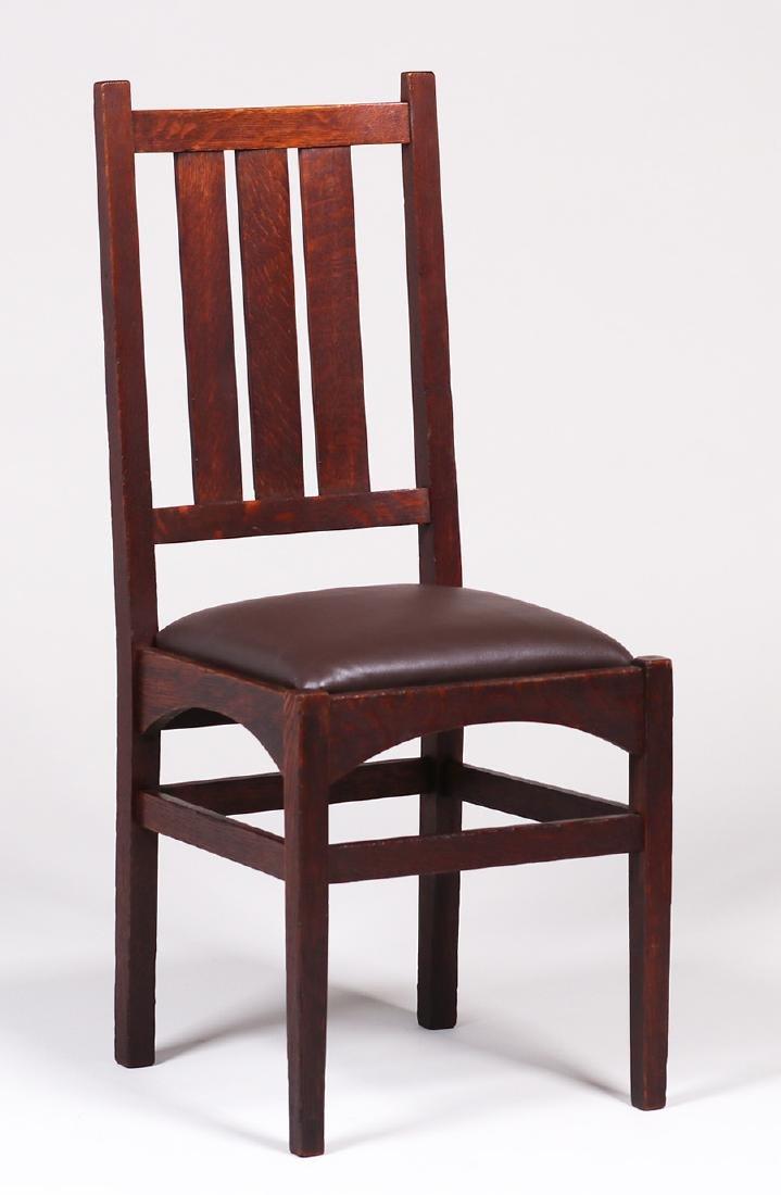 Gustav Stickley Side Chair - Harvey Ellis Design