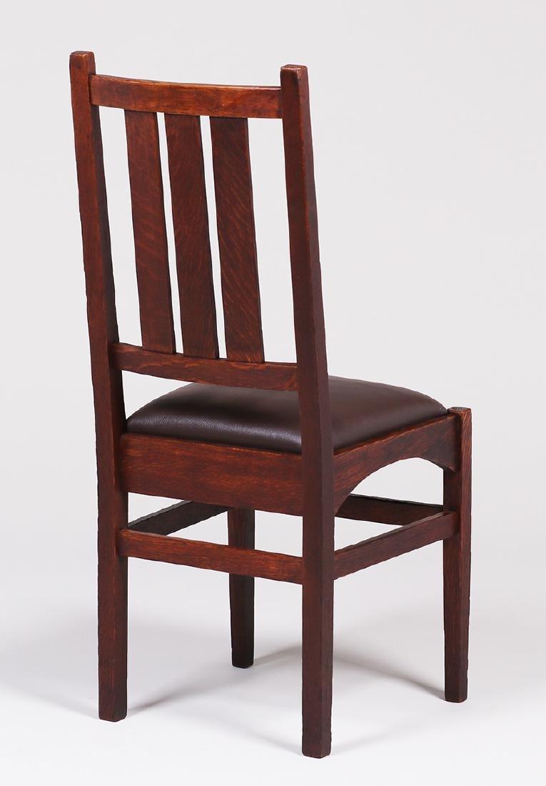Gustav Stickley Side Chair - Harvey Ellis Design - 2