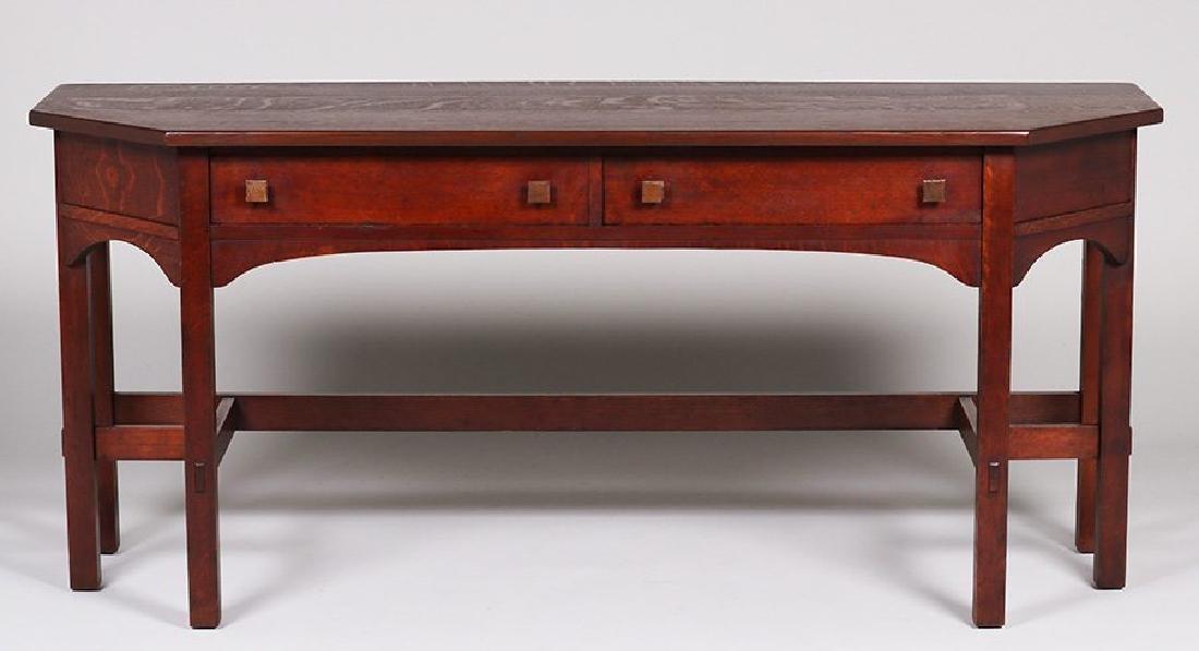 Limbert Two-drawer Sofa Table #1112
