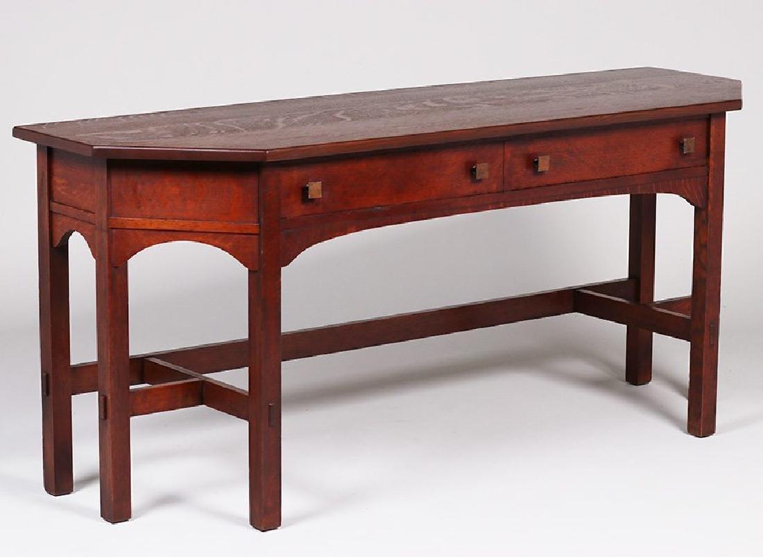 Limbert Two-drawer Sofa Table #1112 - 3