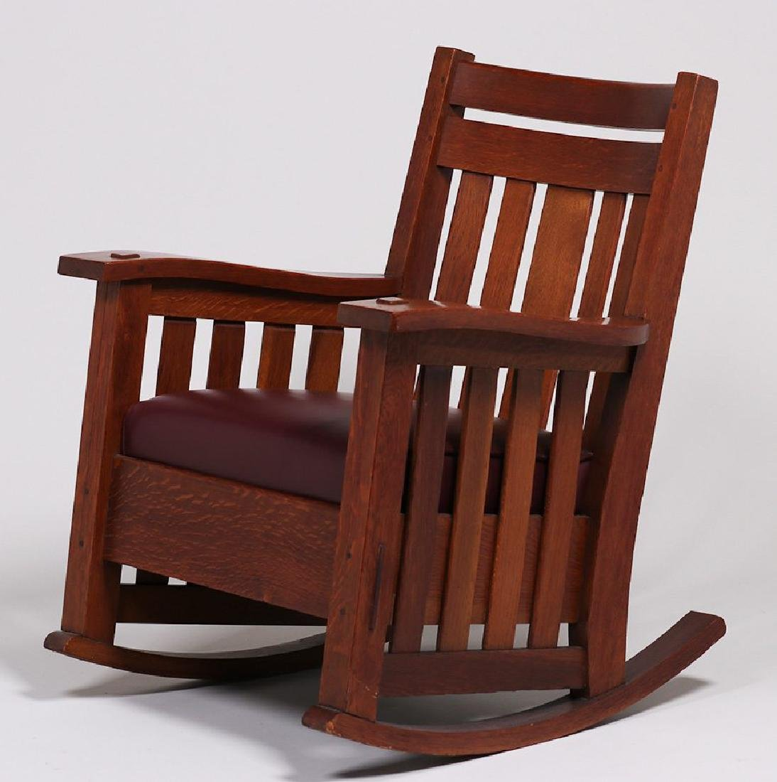 Harden Furniture Co Rocker (Match to Lot 184)