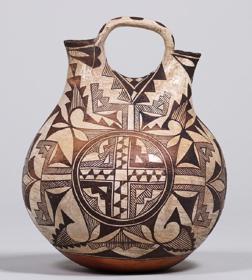 Acoma Pueblo Double Wedding Vase