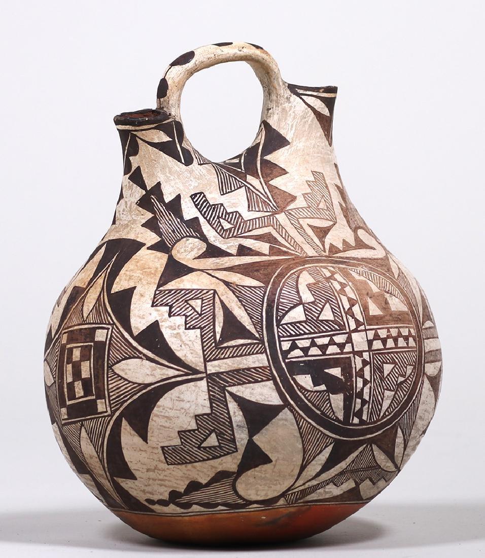 Acoma Pueblo Double Wedding Vase - 2