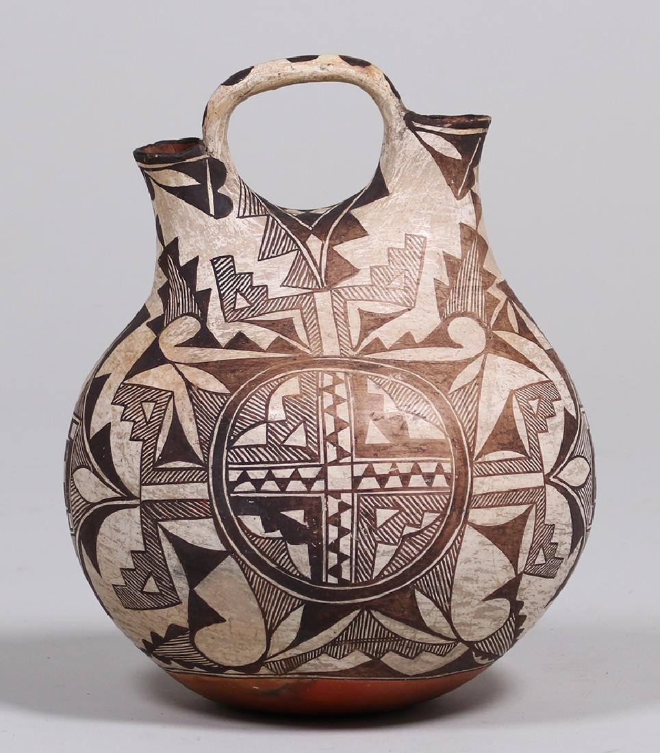 Acoma Pueblo Double Wedding Vase - 3