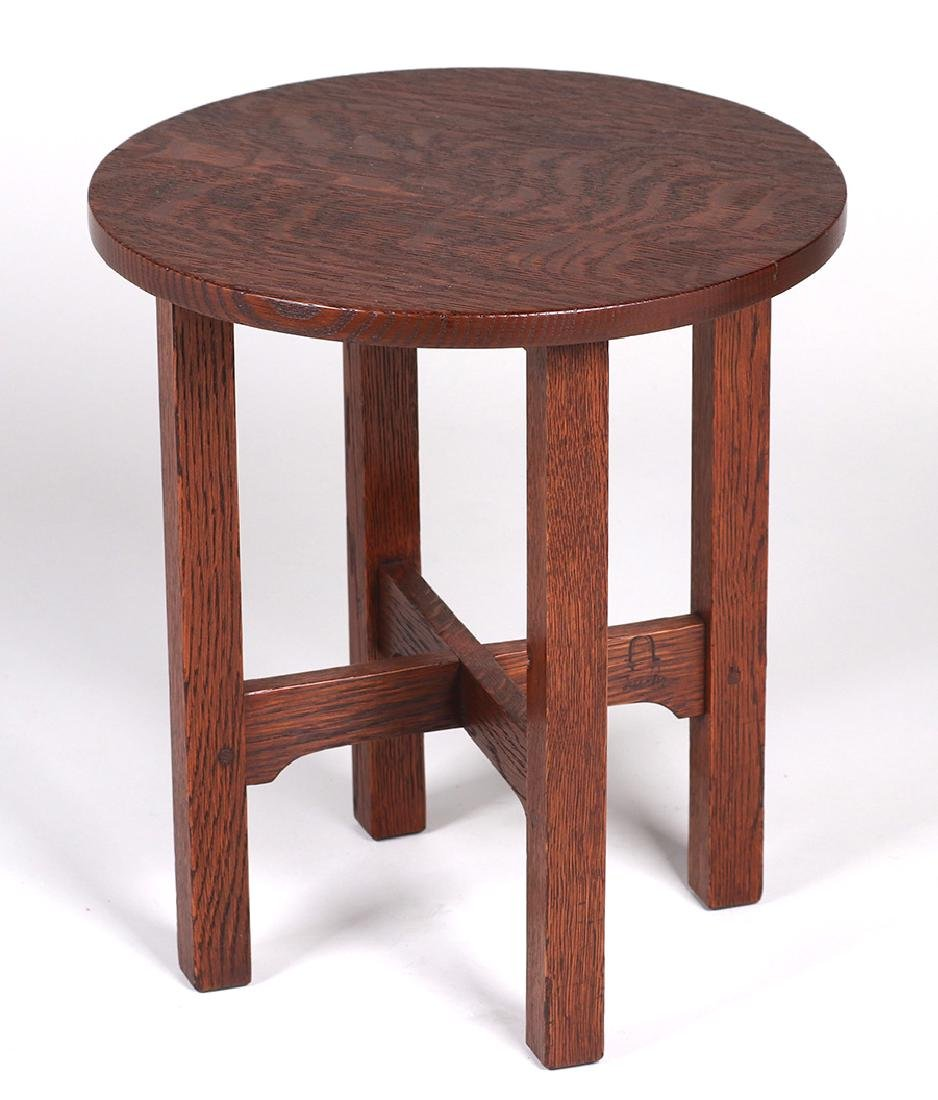 Gustav Stickley #602 Taboret