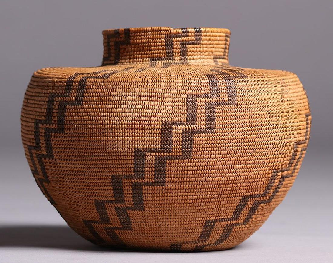 Native American California Basket - Tubatulabal Tribe
