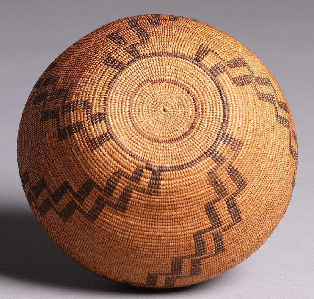 Native American California Basket - Tubatulabal Tribe - 3