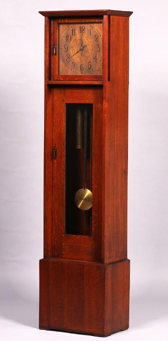 L&JG Stickley Grandfather Clock