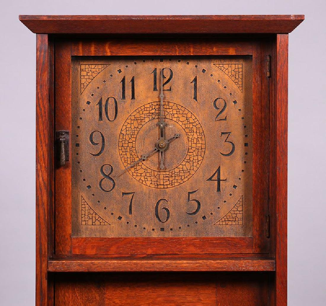 L&JG Stickley Grandfather Clock - 3