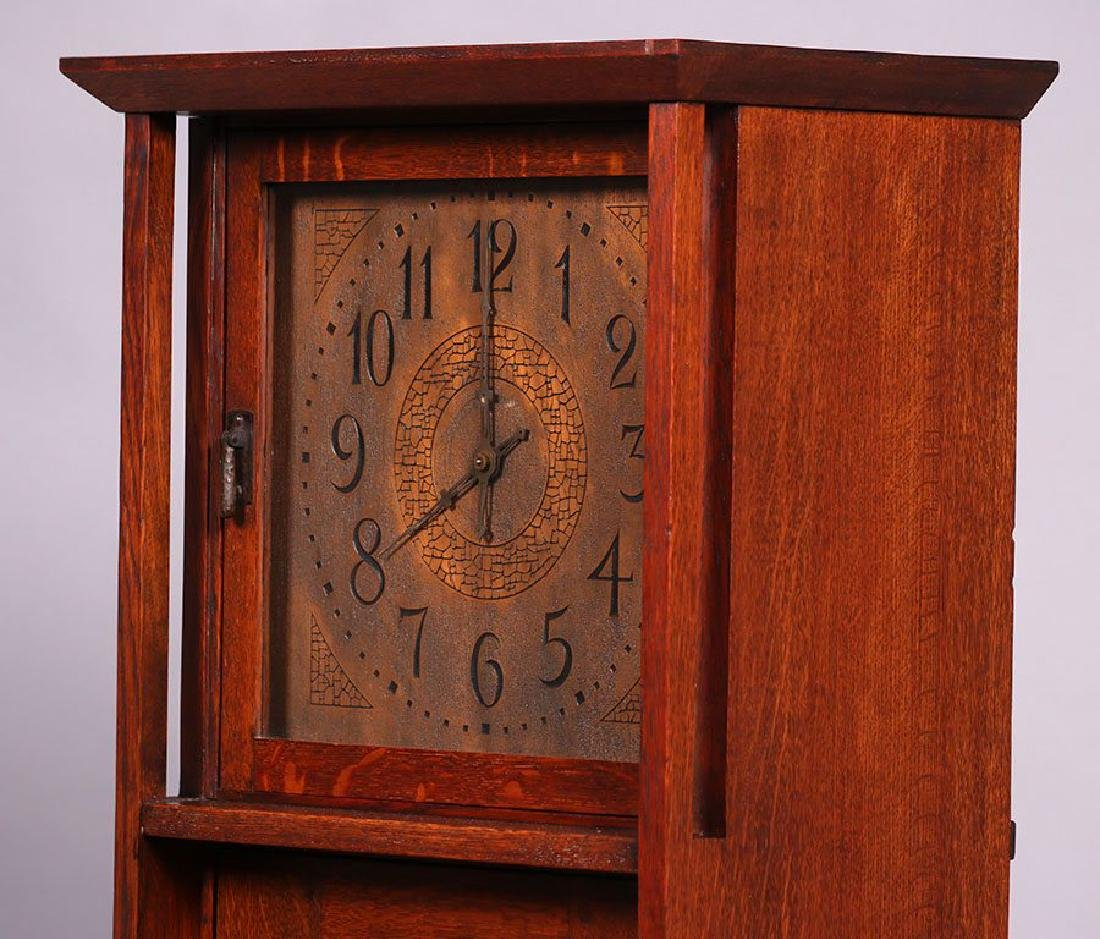 L&JG Stickley Grandfather Clock - 6
