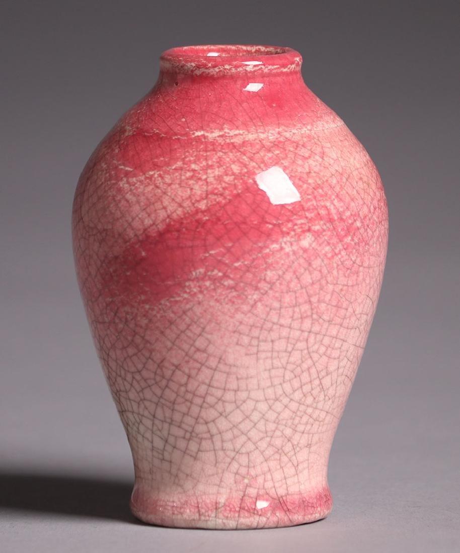 Robertson Hollywood Rose Crackle Cabinet Vase - 2
