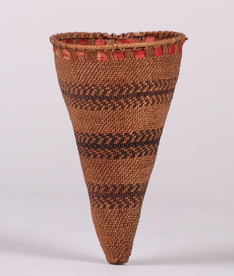 Native American Small Burden Basket - Mono/Paiute