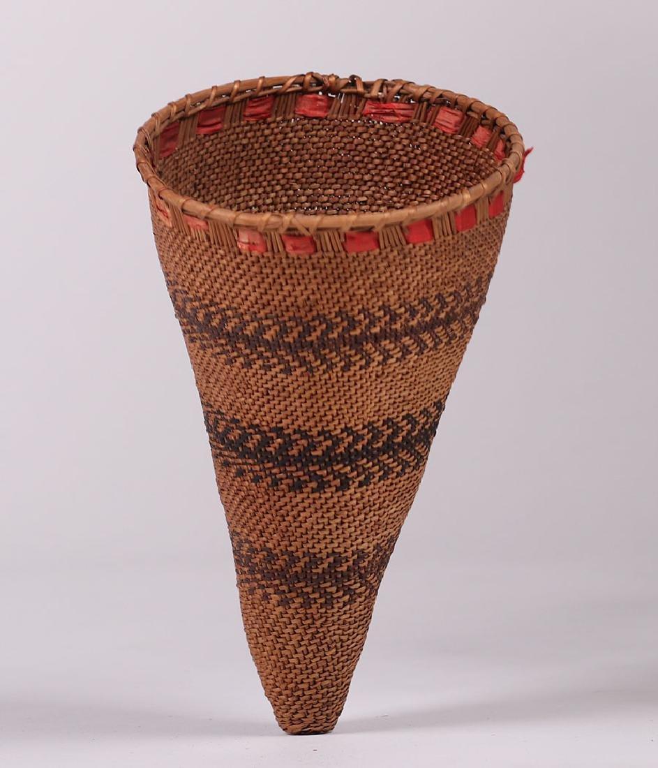 Native American Small Burden Basket - Mono/Paiute - 2