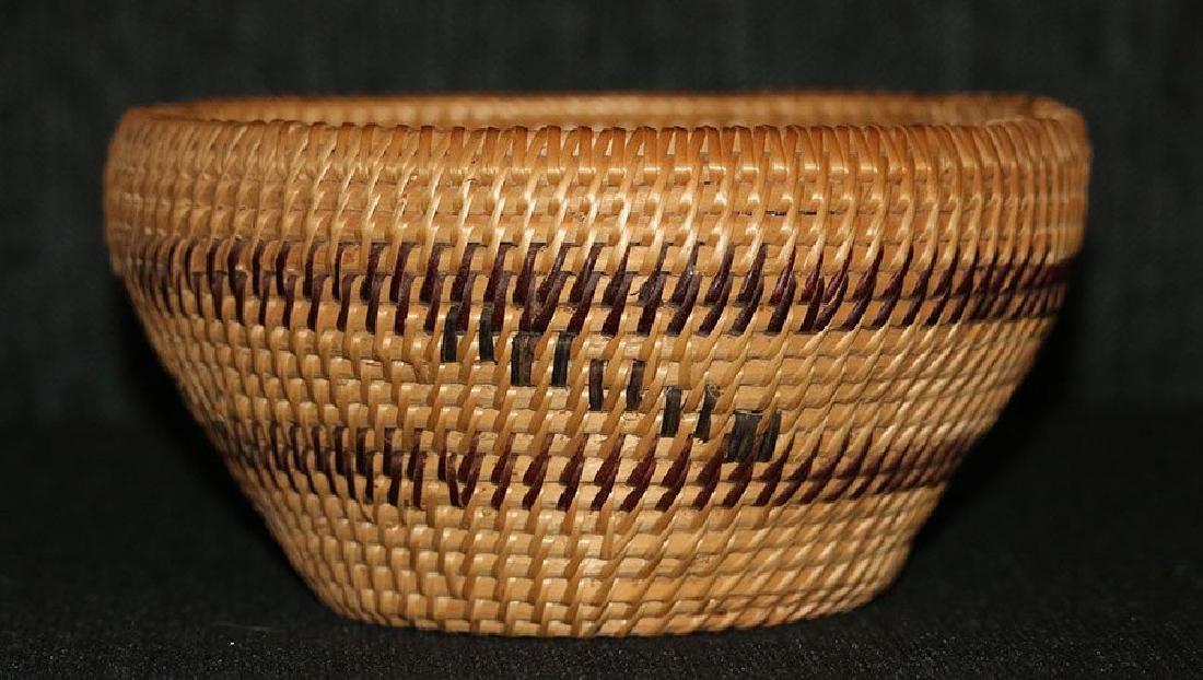 Native American basket - Washoe tribe - 2