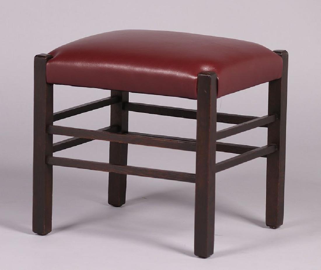 Arts & Crafts Footstool
