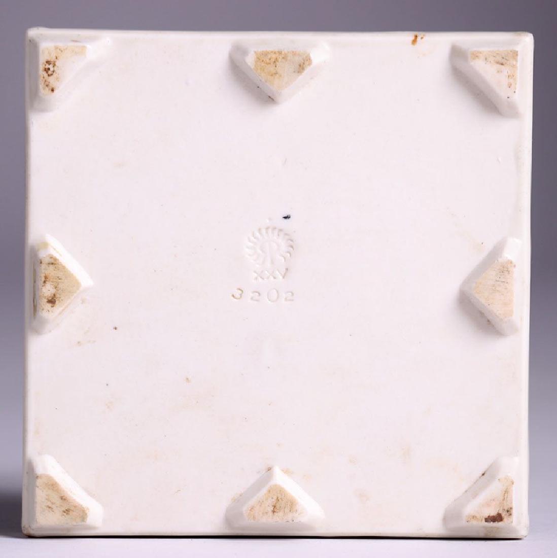 Rookwood Trivet Tile w/ Swan Dated 1925 - 2