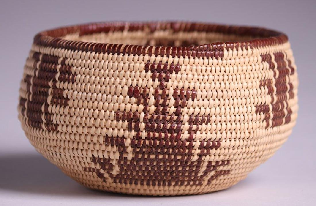 Native American Basket - Maidu tribe - 2