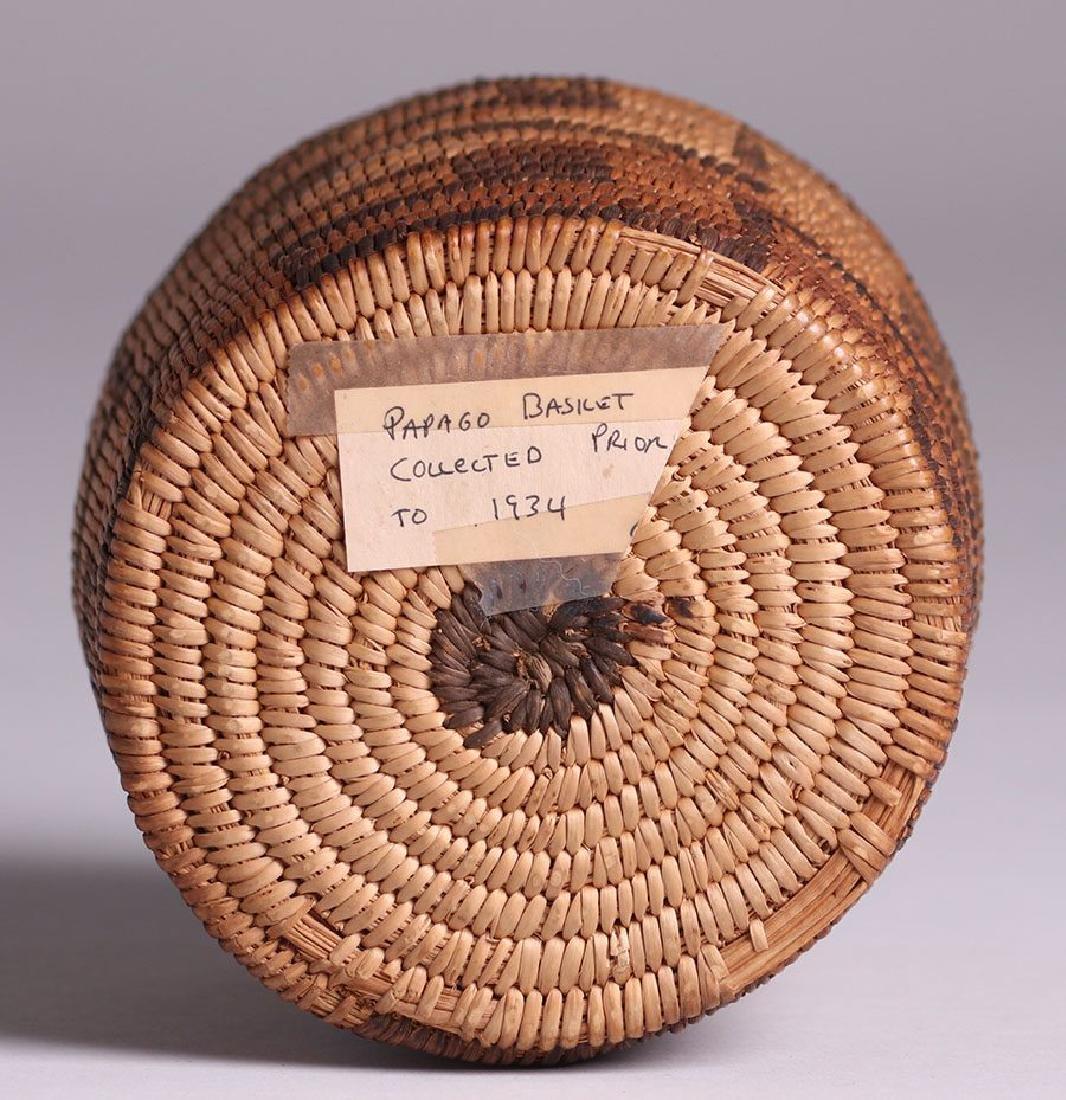 Native American Basket - Papago Tribe - 3