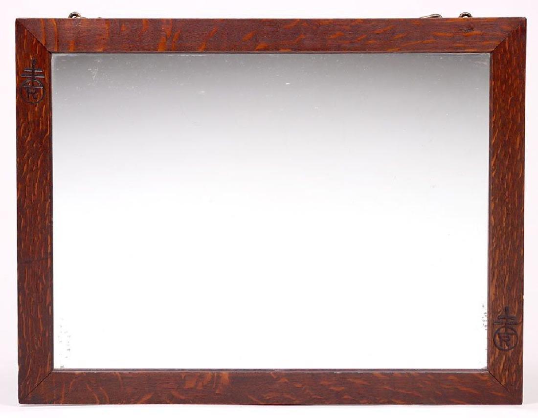 Roycroft Oak Mirror