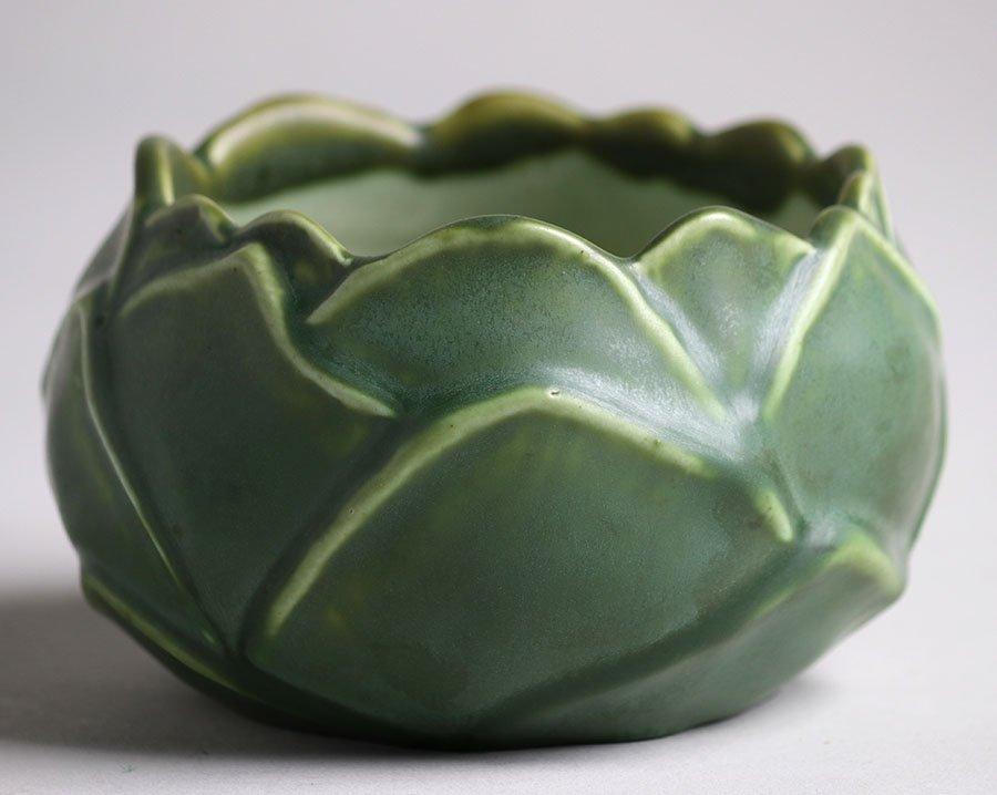 Hampshire Pottery Artichoke Bowl - 2