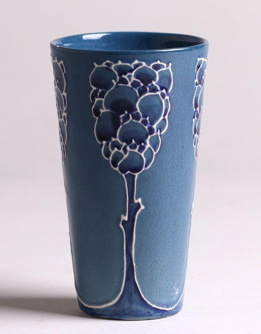 Weller Pottery - Rhead Faience Vase