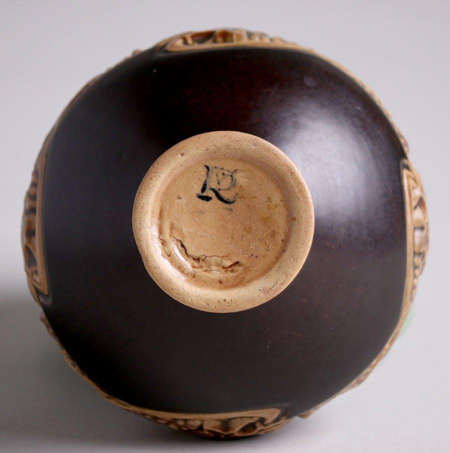 Roseville Rosecraft Panel Small Vase - 3