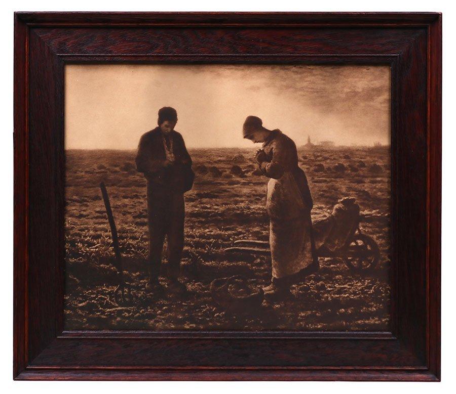 Arts & Crafts Oak Framed Print c1910 - 2