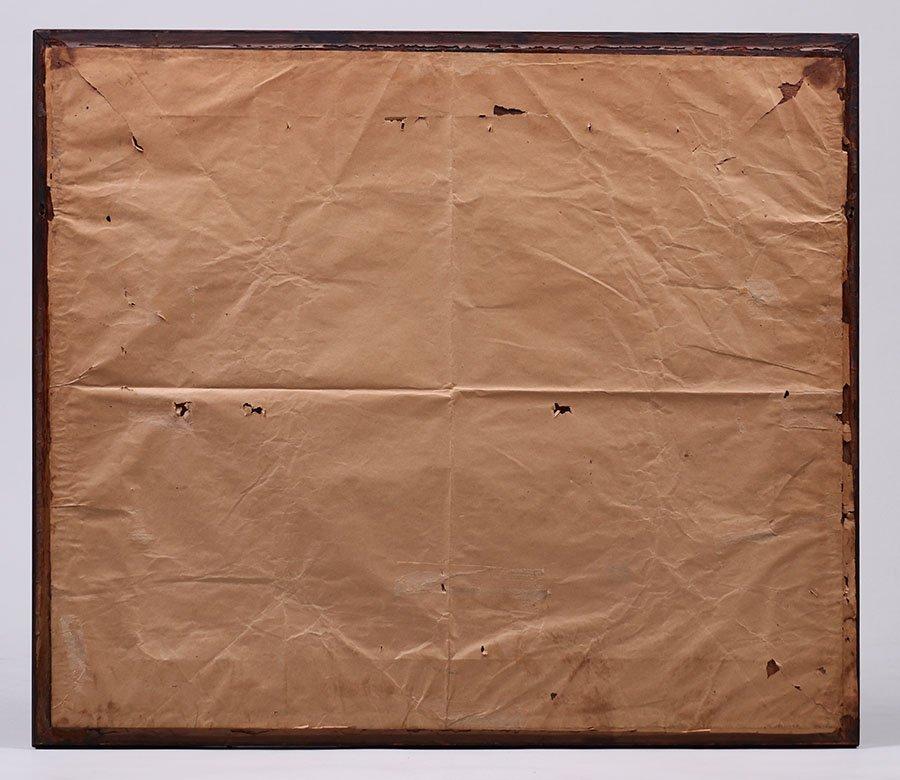 Arts & Crafts Oak Framed Print c1910 - 3