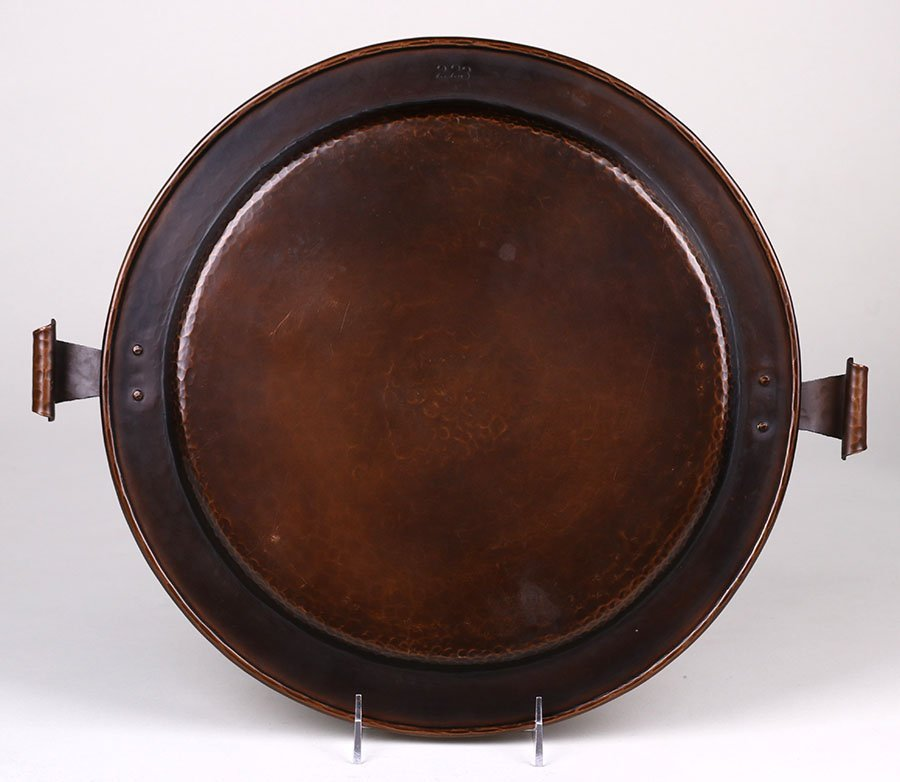 Stickley Brothers Hammered Copper Tray #223 - 2