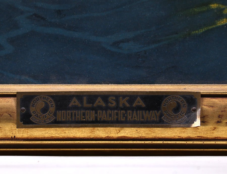 Sydney Lawrence Alaska Northern Pacific Railroad Print - 3