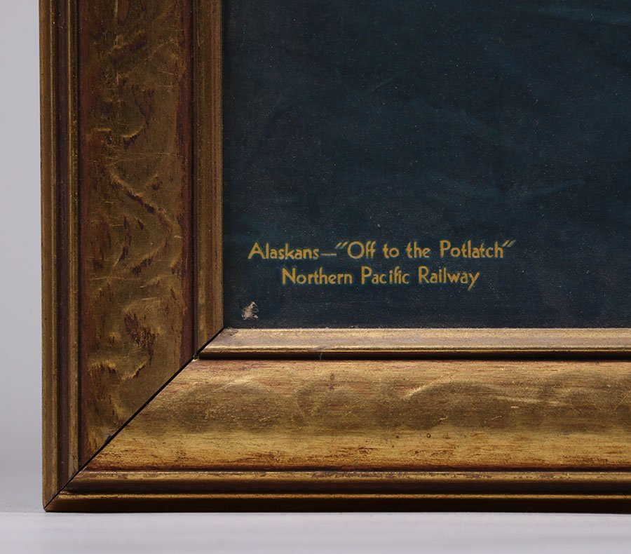 Sydney Lawrence Alaska Northern Pacific Railroad Print - 4