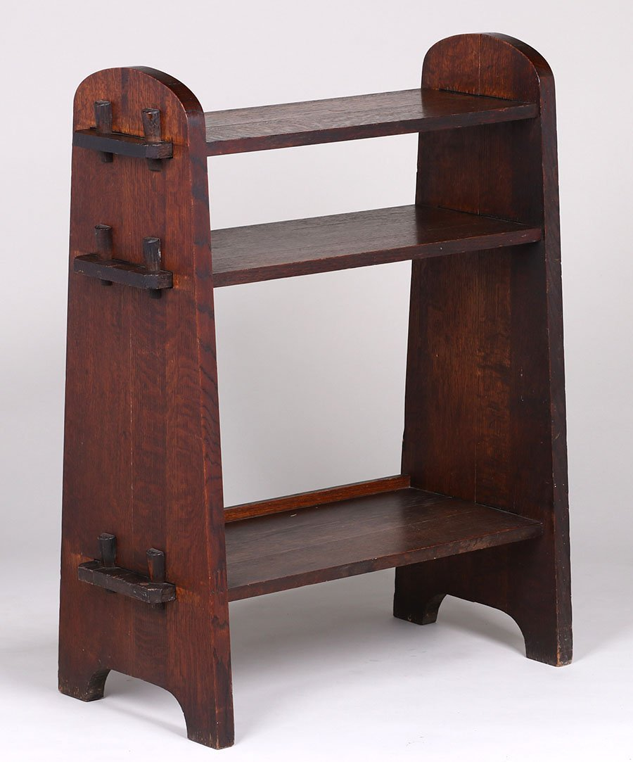 Mission Oak Tenon-and-key Bookshelf c1910
