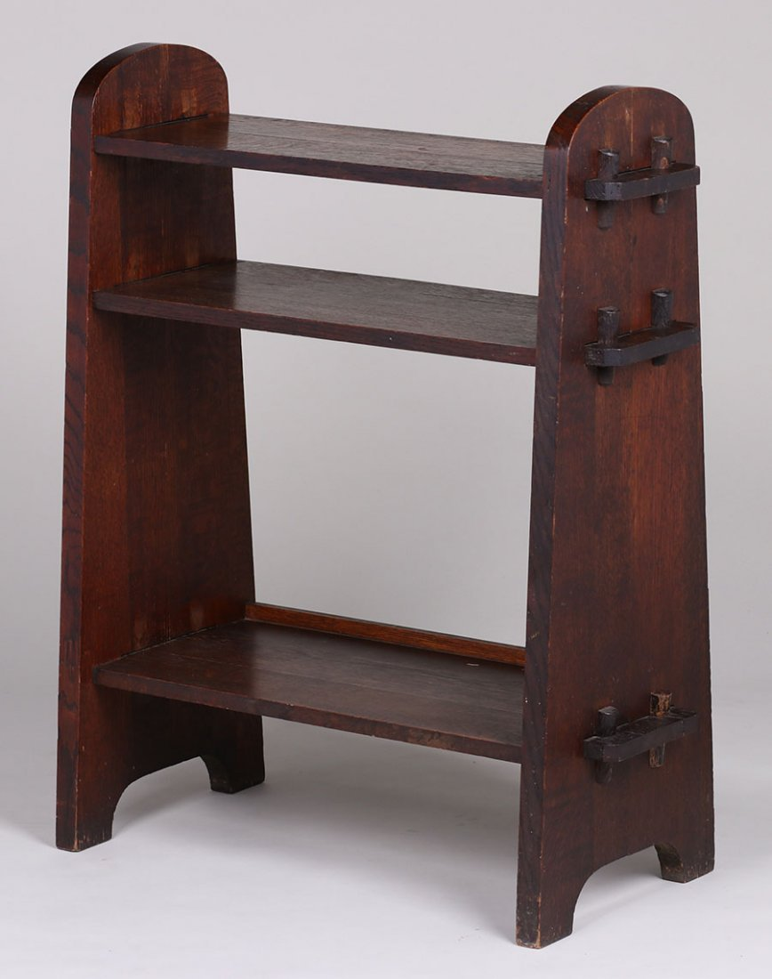 Mission Oak Tenon-and-key Bookshelf c1910 - 2
