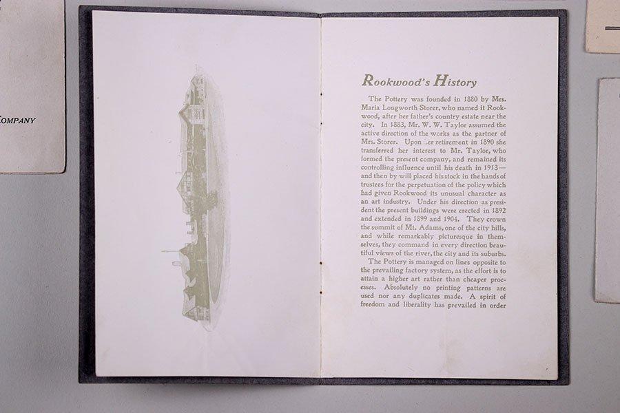 3 Original Rookwood Brochures + Weller & Newcomb - 2