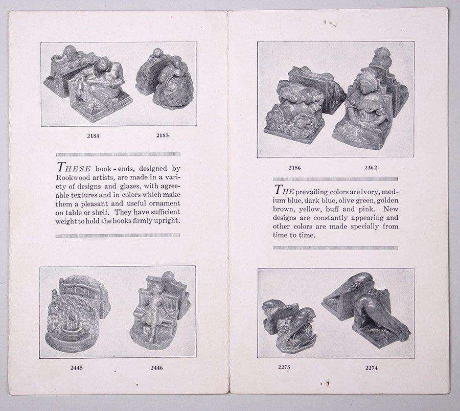 3 Original Rookwood Brochures + Weller & Newcomb - 6
